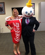 Jack and Coke Homemade Costume