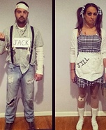 Coolest couples Halloween costumes - Jack and Jill Costume