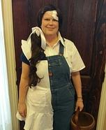 Jack and Jill Homemade Costume