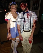 Jack and Jill Homemade Costume