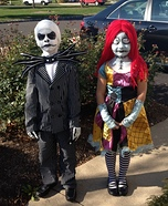Jack and Sally Kids Costumes