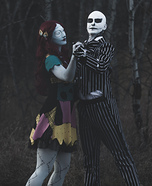 Jack and Sally Couple Halloween Costume
