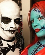 Jack and Sally Homemade Costume