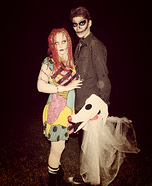 Coolest couples Halloween costumes - Jack and Sally