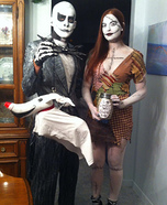 Jack and Sally Couple Costume