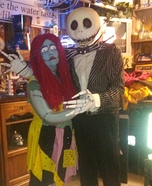 Jack and Sally Nightmare before Christmas Homemade Costume