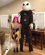 Jack and Sally Skellington Couple Costume