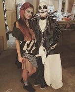 Jack and Sally Skellington Costume Idea for Couples
