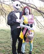 Jack and Sally Skellington Costume