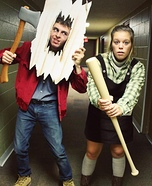 Jack and Wendy Torrance Homemade Costume