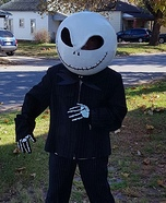Jack from Nightmare Before Christmas Homemade Costume