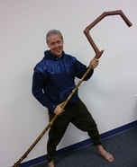 Jack Frost Homemade Costume