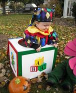 DIY Jack in the Box Costume
