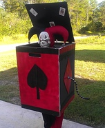 Jack in the Box Homemade Costume