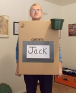 Jack in the Box Halloween Costume