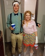 Jack & Jill Homemade Costume