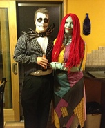 Jack & Sally Homemade Costumes