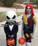Jack & Sally Kid Costumes