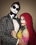Jack & Sally Homemade Costume