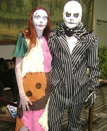 Jack & Sally Nightmare Before Christmas Couples Costume