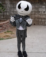 DIY Jack Skellington Costume for Boys