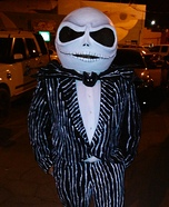DIY Jack Skellington Costume for Men