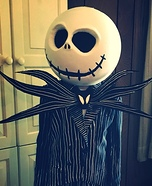 Jack Skellington Homemade Costume