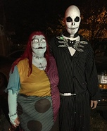 Jack Skellington and Sally Costume Idea