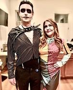 Jack Skellington and Sally Homemade Costume