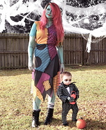 Jack Skellington and Sally Homemade Costume