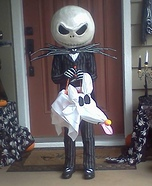 Jack Skellington - Jack the Pumpkin King Homemade Costume