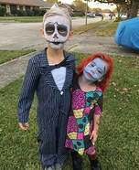 Jack Skellington & Sally Homemade Costume