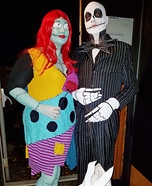 Jack Skellington, Sally & Zero Homemade Costume