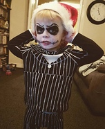 Jack Skellington Toddler Homemade Costume