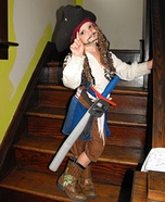 Jack Sparrow Homemade Costume