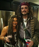 Jack Sparrow and Calypso Homemade Costume