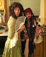 Jack Sparrow and Elizabeth Homemade Costume