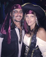 Jack Sparrow and his Scallywag Homemade Costume