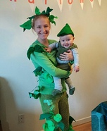 Jack, the Beanstalk and the Giant Homemade Costume