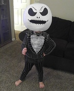 Jack the Pumkin King Homemade Costume