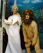 Jadis The White Witch and Aslan Homemade Costume