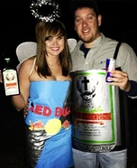 Jager Bomb DIY Couple Costume