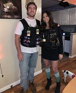 Jager Bomb and Irish Car Bomb Homemade Costume
