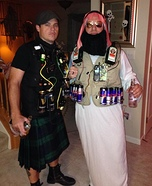 Jager Bomber and Irish Car Bomber Homemade Costume