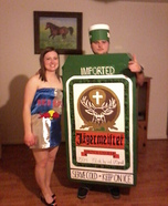 Couples Halloween costume idea: Jager Bombs Costume