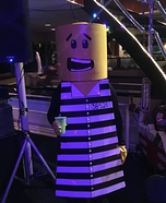 Jail LEGO Homemade Costume