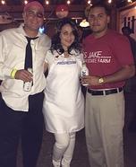 Jake, Flo and Mayhem Homemade Costume