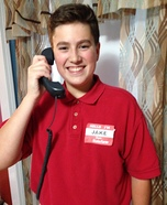 Jake from State Farm Homemade Costume
