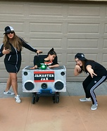 Jam Master Jax and Crew Homemade Costume