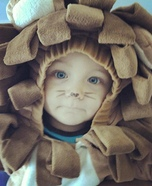 Homemade Baby Lion Costume